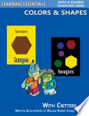 Colors   Shapes Flash Cards  Colors  Shapes and Critters
