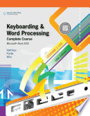 Keyboarding and Word Processing  Complete Course  Lessons 1 120  Microsoft Word 2010  College Keyboarding