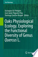 Oaks Physiological Ecology  Exploring the Functional Diversity of Genus Quercus L