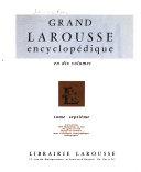 Grand Larousse encyclop  dique