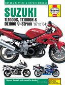 Suzuki TL1000S  TL1000R   DL1000 V Strom  97 to  04
