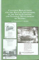 Cultural Reflections and the Role of Advertising in the Socio economic and National Development of Nigeria