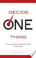decide-one-thing