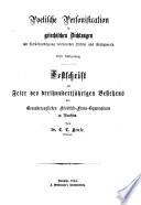 Festschrift zur Feier des dreihundertjährigen Bestehens des Grossherzoglichen Friedrich-Franz-Gymnasiums zu Parchim