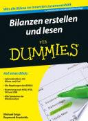 Bilanzen erstellen und lesen f  r Dummies