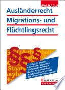 Ausl  nderrecht  Migrations  und Fl  chtlingsrecht 2013