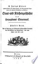 Von der Regierung der Oesterreich-Habspurgischen Landesfürsten bis Wilhelm den Freundlichen, oder vom Jahre 1283 bis 1396