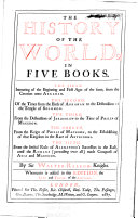 download ebook the history of the world, in five books pdf epub