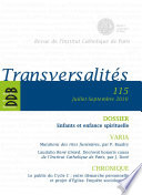 Transversalit  s  No 115  Juillet sept
