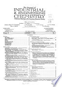 The Journal of Industrial and Engineering Chemistry