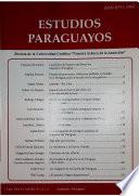 Revista Estudios Paraguayos 2008 y 2009 - N°1 y 2 XXVI y XXVII
