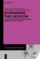 Expanding the Lexicon
