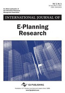 International Journal of E-Planning Research ( Vol 1 ISS 1)