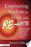 Empowering Students to Write and Re write