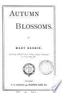 Autumn blossoms Book PDF