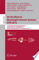 On The Move To Meaningful Internet Systems Otm 2012 book