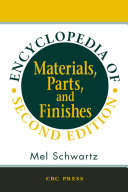 Encyclopedia of Materials  Parts and Finishes  Second Edition
