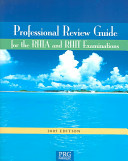 Professional Review Guide for RHIA and RHIT Examinations  2005 Edition