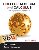 College Algebra and Calculus: An Applied Approach