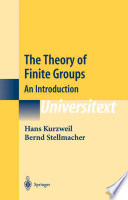 The Theory of Finite Groups