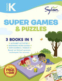 Kindergarten Super Games and Puzzles  Sylvan Super Workbook