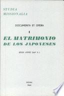 El matrimonio de los japoneses