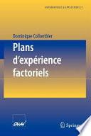 Plans d exp  rience factoriels