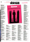 Domus, monthly review of architecture interiors design art