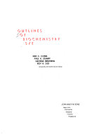 Outlines of biochemistry