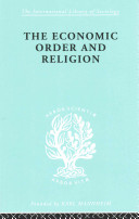 Econ Order and Religion Ils 76