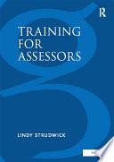 Training for Assessors