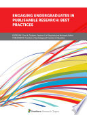 Engaging Undergraduates In Publishable Research Best Practices