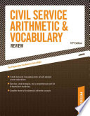 Civil Service Arithmetic   Vocabulary Review