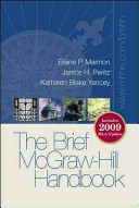 Brief McGraw-Hill Handbook 2009 MLA Update with Connect Composition Access Card