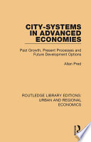 City systems in Advanced Economies