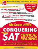 McGraw Hill s Conquering the New SAT Critical Reading