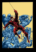 Essential Daredevil 4 : black widow and the two move to...