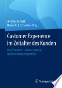 Customer Experience im Zeitalter des Kunden