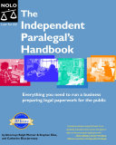The Independent Paralegal s Handbook