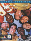 Adolescent Psychology  2001 2002