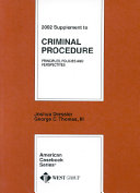 2002 supplement to criminal procedure