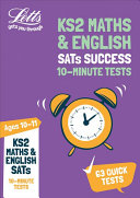 KS2 Maths and English SATs Age 10-11: 10-Minute Tests