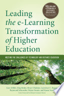 Leading the e Learning Transformation of Higher Education