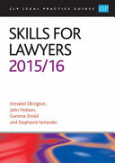 Skills for Lawyers 2015 2016