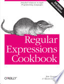 Regular Expressions Cookbook