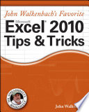 Mr  Spreadsheet s Favorite Excel 2010 Tips and Tricks