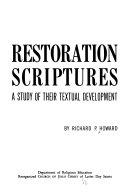 Restoration scriptures