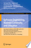 Software Engineering  Business Continuity  and Education