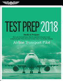 Airline Transport Pilot Test Prep 2018