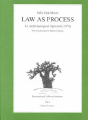 Law as Process
